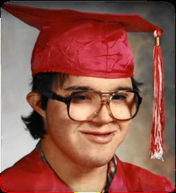 Kelly as a young man at Hammer Residences