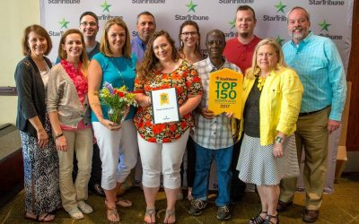 Star Tribune Top 150 Work Place for 8 Years in a Row!