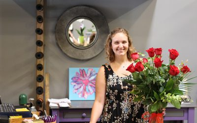 Love of Flowers and Helping People Inspired her Journey