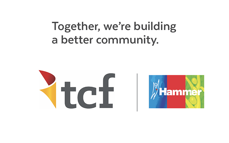 TCF, Proud Supporters of Hammer – Together We're Building a Better Community!