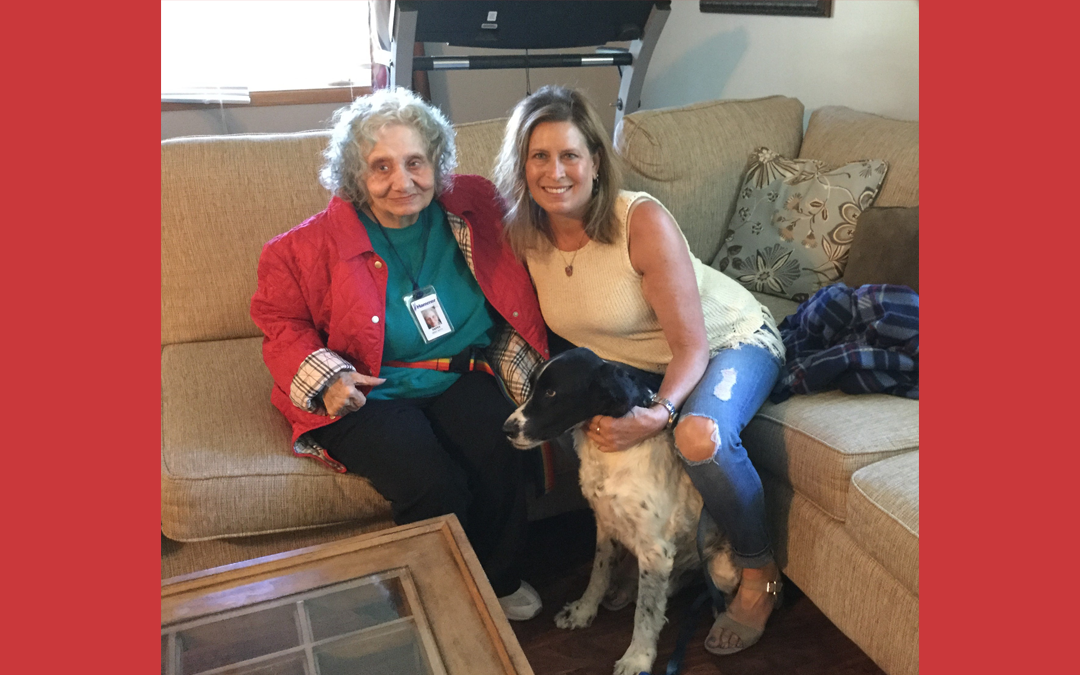 Volunteer of the Month: Penny Halcomb and Maxwell