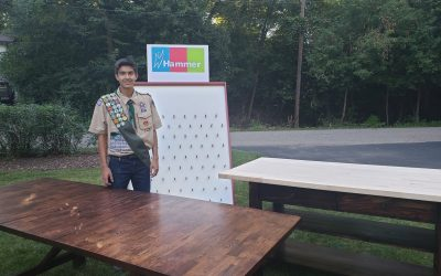 Eagle Scout Jack Moy is Hammer's New Hero!